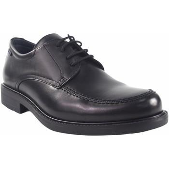 Schuhe Herren Derby-Schuhe Baerchi 1802-ae schwarz Schwarz