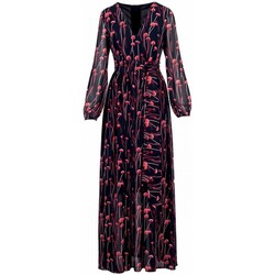 Kleidung Damen Maxikleider Anonyme | Orietta Rotes Kleid | ANY_R129FD096_RED rouge