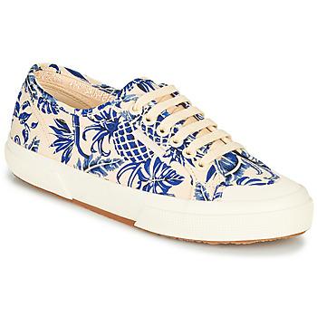 Schuhe Damen Sneaker Low Superga 2294-COTFANW Beige / Blau