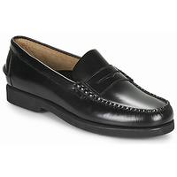 Schuhe Herren Slipper Sebago DAN POLARIS Schwarz