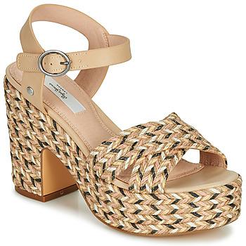Schuhe Damen Sandalen / Sandaletten Pepe jeans BLEAN Beige