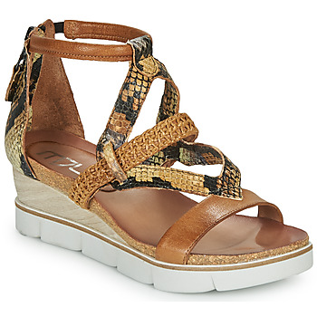 Schuhe Damen Sandalen / Sandaletten Mjus TAPASITA Braun