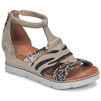 Schuhe Damen Sandalen / Sandaletten Mjus TAPASITA Maulwurf / Leopard