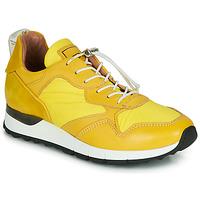 Schuhe Damen Sneaker Low Mjus CAST Gelb