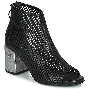 Schuhe Damen Boots Mjus MUSIC Schwarz