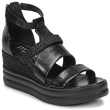 Schuhe Damen Sandalen / Sandaletten Mjus BELLANERA Schwarz