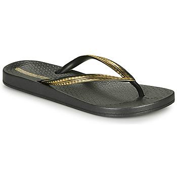 Schuhe Damen Zehensandalen Ipanema MESH IV Schwarz / Gold
