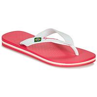 Schuhe Mädchen Zehensandalen Ipanema CLAS BRASIL II Rose / Weiss