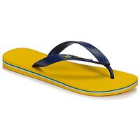 Schuhe Herren Zehensandalen Ipanema CLAS BRASIL II Gelb / Blau