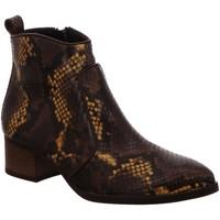 Schuhe Damen Low Boots Paul Green Stiefeletten 9520-155 animal