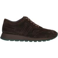 Schuhe Herren Sneaker Low Cristiano Gualtieri 403 braun