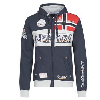 Kleidung Herren Sweatshirts Geographical Norway FLYER Marine