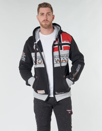Kleidung Herren Sweatshirts Geographical Norway FLYER Schwarz