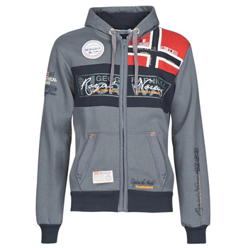 Kleidung Herren Sweatshirts Geographical Norway FLYER Grau