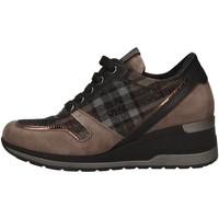 Schuhe Damen Sneaker Low Melluso R25522 MUD