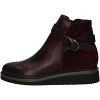 Schuhe Damen Ankle Boots Zen 938107 BORDEAUX