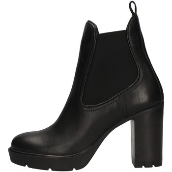 Schuhe Damen Ankle Boots Janet Sport 44830 BLACK