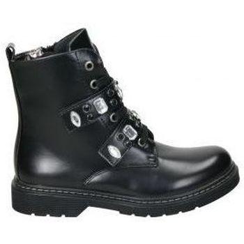 Schuhe Mädchen Boots Asso AG3702 Noir