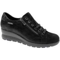Schuhe Damen Sneaker Low Mephisto MEPHPRIMAne nero