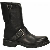Schuhe Damen Low Boots Emanuélle Vee TRONCHETTO PARACOLPI DIETRO COW ALDO black