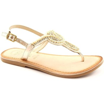 Schuhe Mädchen Sandalen / Sandaletten Gioseppo beldad 26246 Gold Gold Sandalen Kind infradfito Strassperlen Le Beige