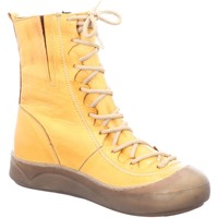 Schuhe Damen Boots Gemini Stiefeletten 331010-02 320 OCKER gelb