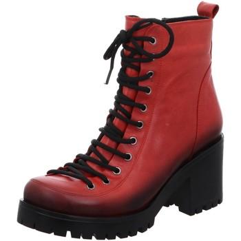 Schuhe Damen Low Boots Gemini Stiefeletten ANILINA STIEFEL 039440-02/005 005 rot