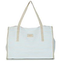 Taschen Damen Shopper / Einkaufstasche Banana Moon ZENON WELINGTON Weiss / Blau