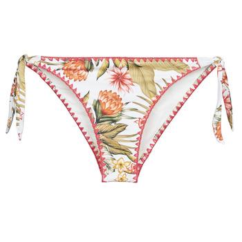 Kleidung Damen Bikini Ober- und Unterteile Banana Moon DIMKA LAHAINA Weiss / Orange