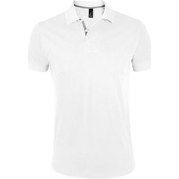 Kleidung Herren Polohemden Sols PORTLAND MODERN SPORT Blanco