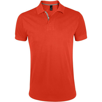 Kleidung Herren Polohemden Sols PORTLAND MODERN SPORT Naranja