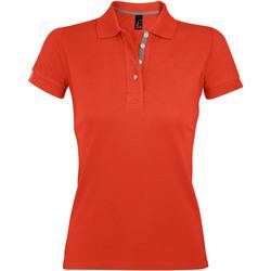 Kleidung Damen Polohemden Sols PORTLAND MODERN SPORT Naranja