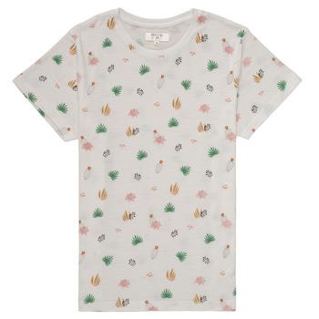 Kleidung Mädchen T-Shirts Deeluxe ELINA Weiss