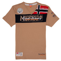 Kleidung Jungen T-Shirts Geographical Norway JIDNEY Beige