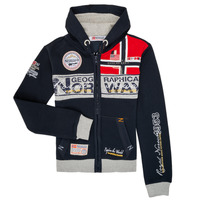 Kleidung Jungen Sweatshirts Geographical Norway FLYER Marine