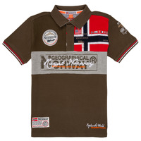 Kleidung Jungen Polohemden Geographical Norway KIDNEY Kaki