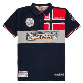 Kleidung Jungen Polohemden Geographical Norway KIDNEY Marine