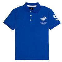 Kleidung Jungen Polohemden Geographical Norway KAMPAI Blau