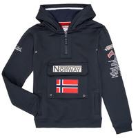 Kleidung Jungen Sweatshirts Geographical Norway GYMCLASS Marine