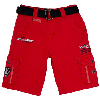 Kleidung Jungen Shorts / Bermudas Geographical Norway POUDRE Rot