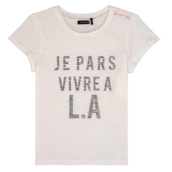 Kleidung Mädchen T-Shirts Ikks DARRIAL Weiss