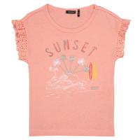 Kleidung Mädchen T-Shirts Ikks POLIAK Orange