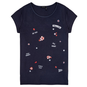 Kleidung Mädchen T-Shirts Ikks POSTALE Marine