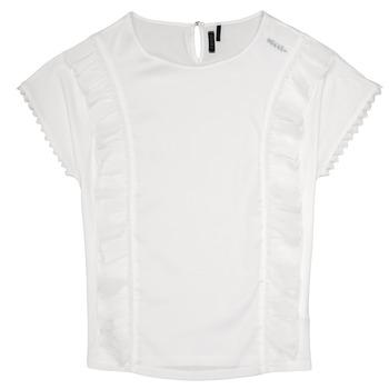 Kleidung Mädchen Tops / Blusen Ikks CHLOE Weiss