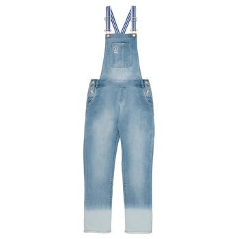 Kleidung Mädchen Overalls / Latzhosen Ikks PERRINE Blau