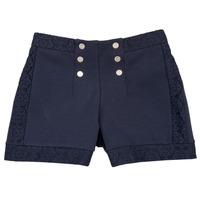 Kleidung Mädchen Shorts / Bermudas Ikks SOLISSO Marine