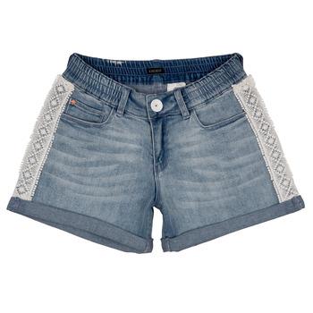 Kleidung Mädchen Shorts / Bermudas Ikks ISAHA Blau