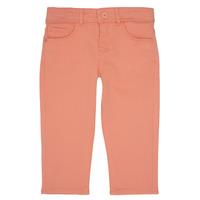 Kleidung Mädchen 5-Pocket-Hosen Ikks CARLOTTA Orange