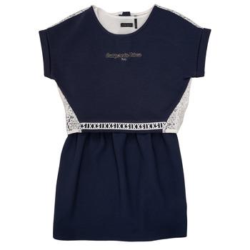Kleidung Mädchen Kurze Kleider Ikks NIEL Marine