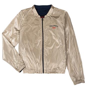Kleidung Mädchen Jacken Ikks PAULETTE Marine / Gold